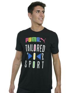 Remera Puma Graphic Tailored For Sport