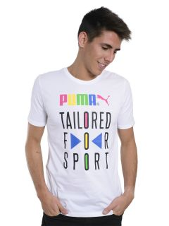 Remera Puma Graphic Tailored For Sport
