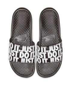 Ojotas Nike Benassi Just do It Print