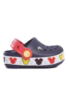 Zuecos Crocs Crocband Mickey Fun Lab Lights Kids