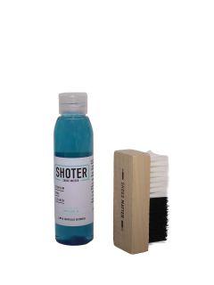 Kit Shoter Espuma Limpiadora Cepillo