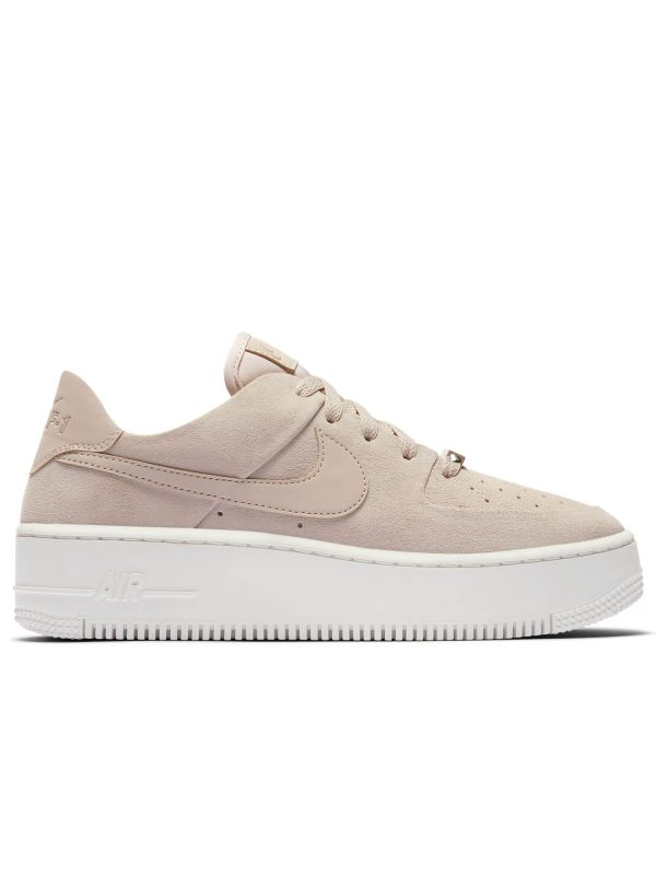 Zapatillas de deporte color beis Air Force 1 Sage Low LX de