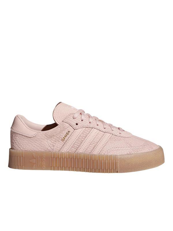mejor venta descuento adidas zapatos samba rose trainers