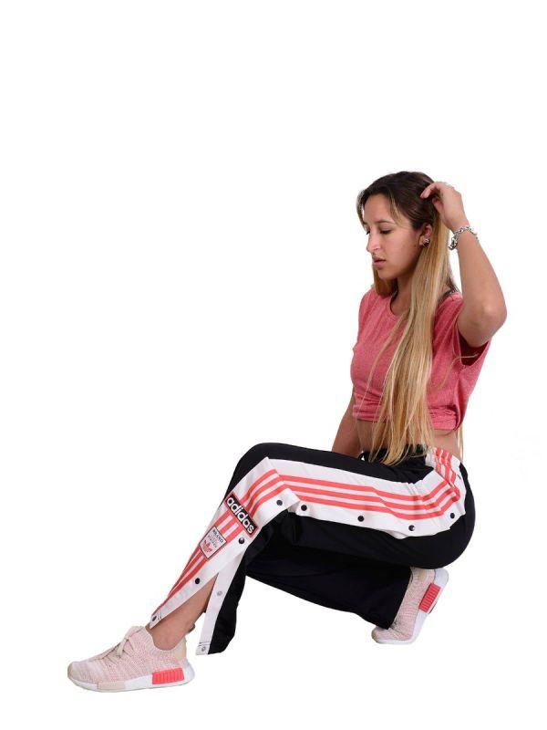 Pantalon Con Botones Adidas Online